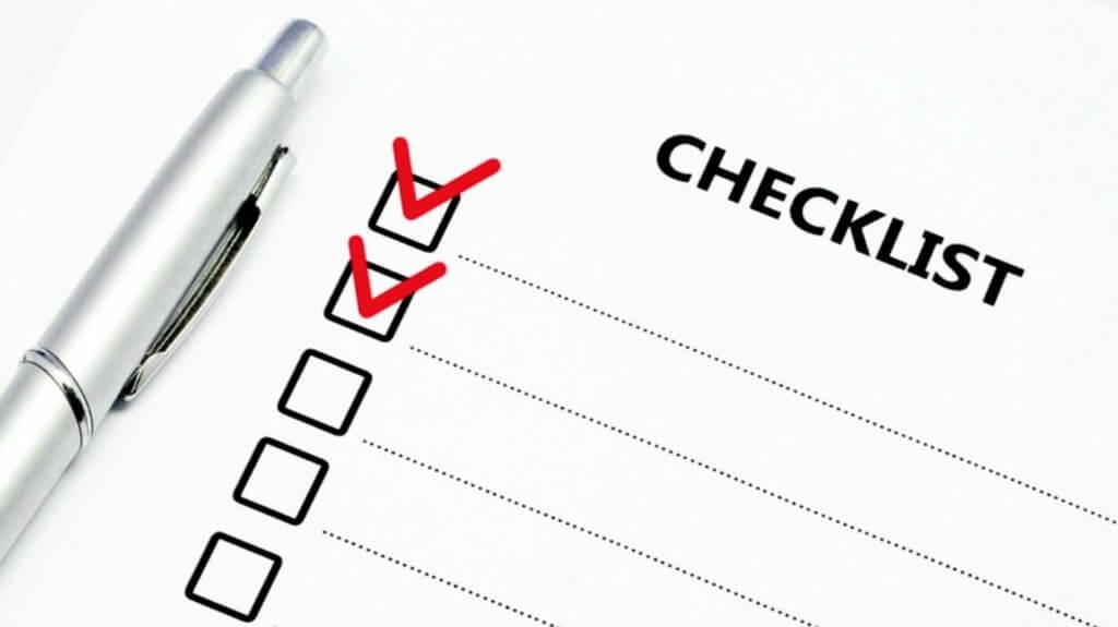 Checklist sobre la creación de valor en proyectos