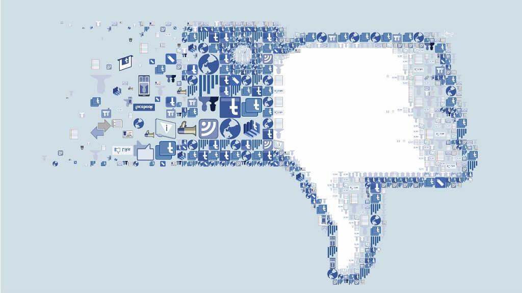 Estoy enfadado con Facebook :: Facebook ya no me gusta