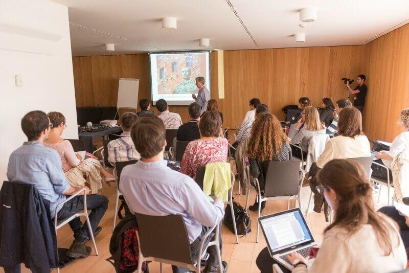 Taller impartido en Navarra Jobs :: Rufino Lasaosa