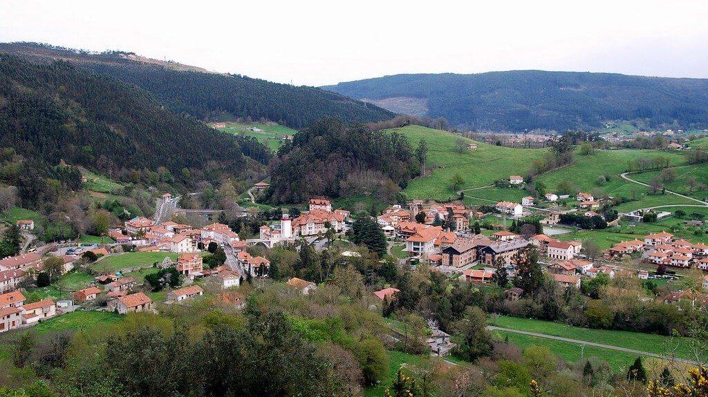 Vista de Puente Viesgo, Cantabria